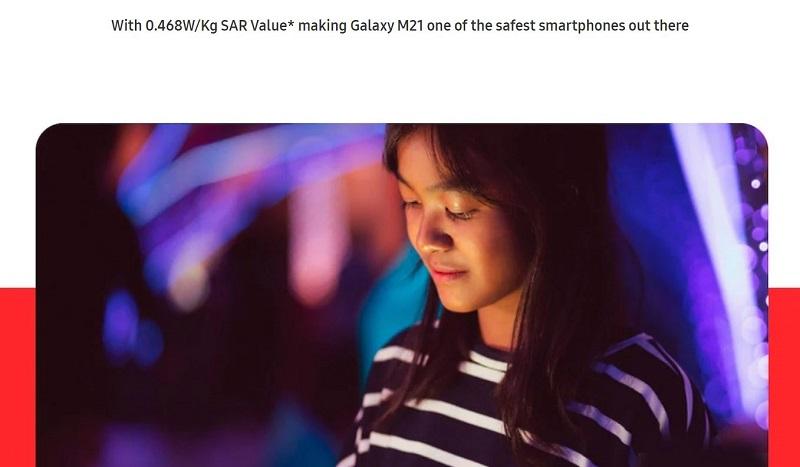 Samsung Galaxy M21 Defense Mechanism