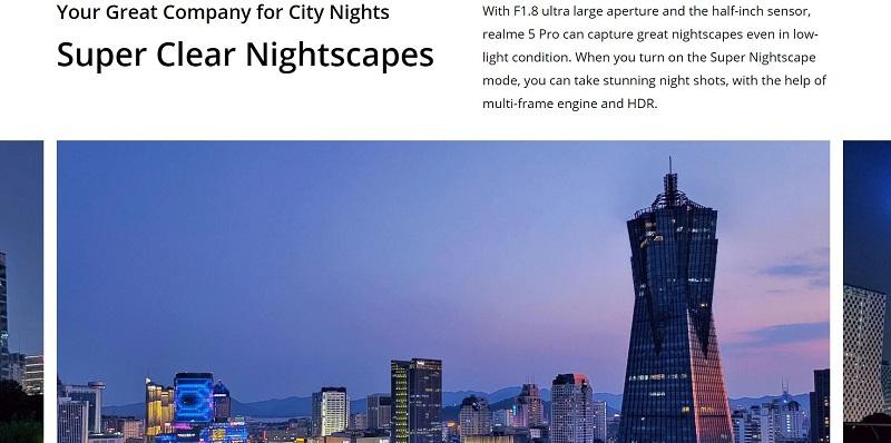 Super Clear Night Scape Image Capture