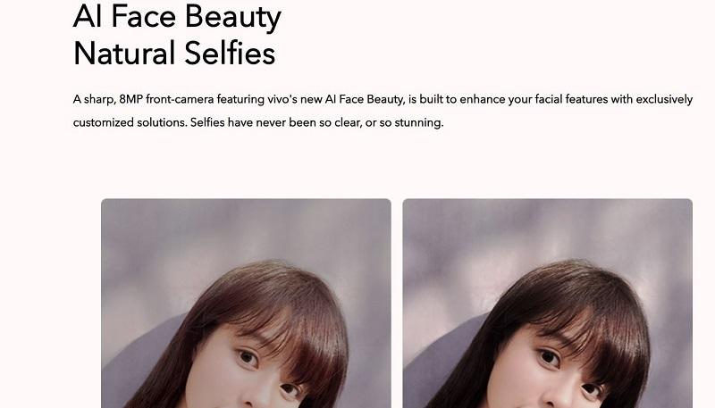 Vivo Y11 Beauty Selfie