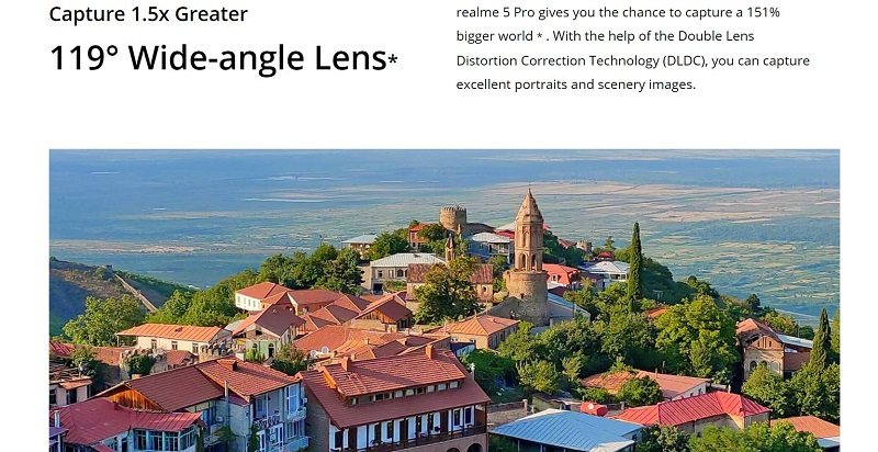 Wide Angle Image Capture