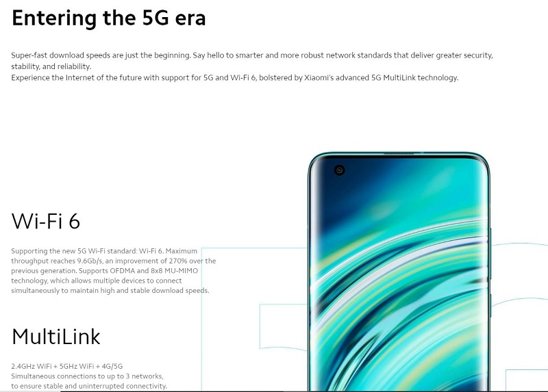 Xiaomi Mi 10 Connectivity Upgrade