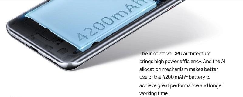 42000mAh Battery Capacity