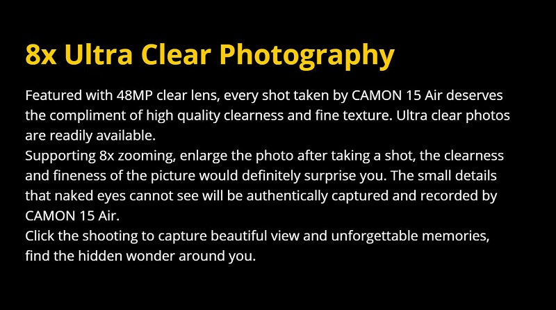 8X Ultra Photography