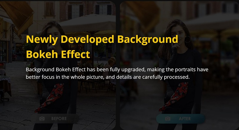 Background Bokeh Effect