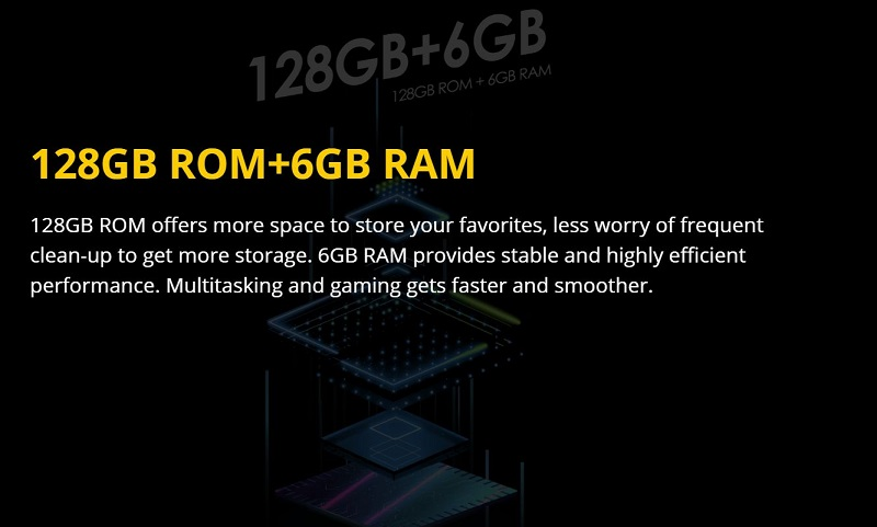 Bigger Storage Capacity