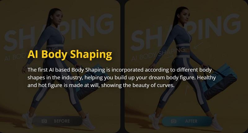 Body Shaping Camera Effect