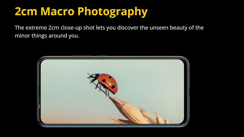 Camon 16 Premier Macro Photography