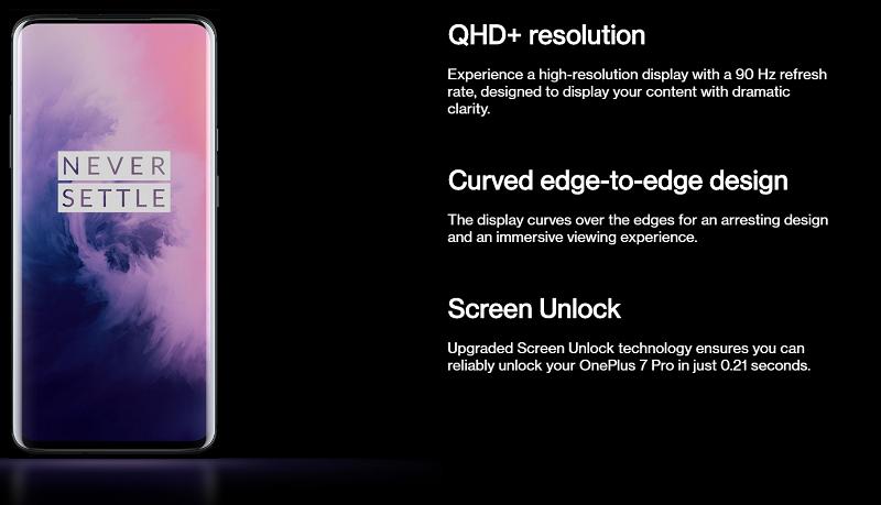 Curved Edge-to-Edge Display