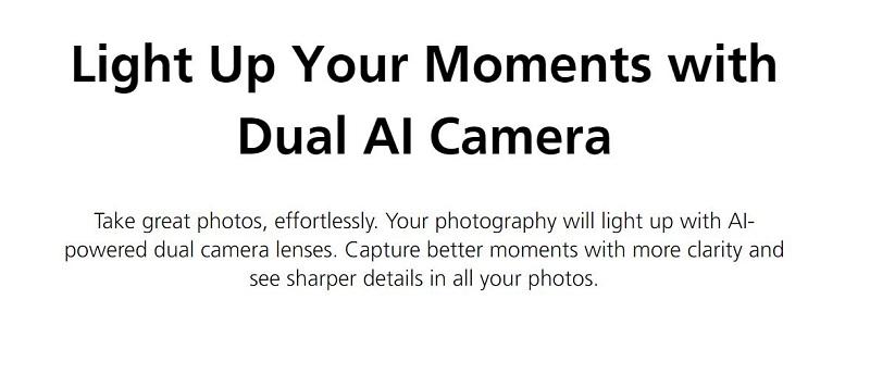 Dual AI Camera