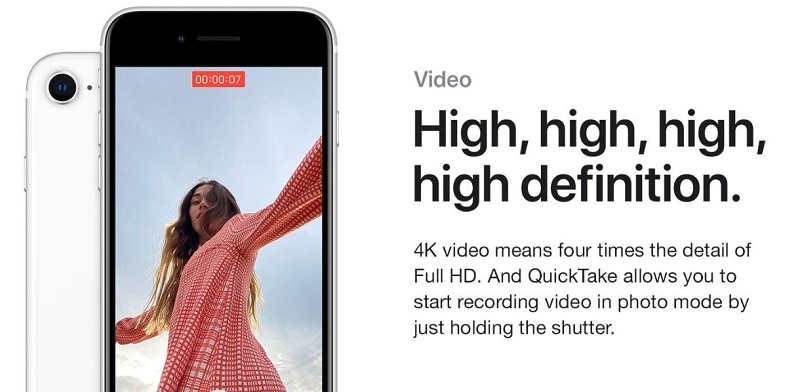 High-definition video recording