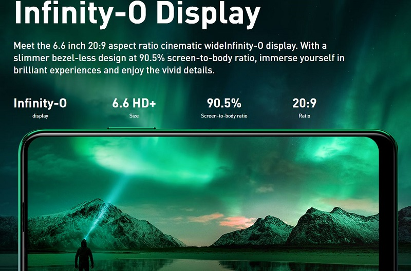 Infinity O Display