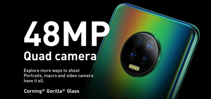Infinix Note 7 48MP Quad camera