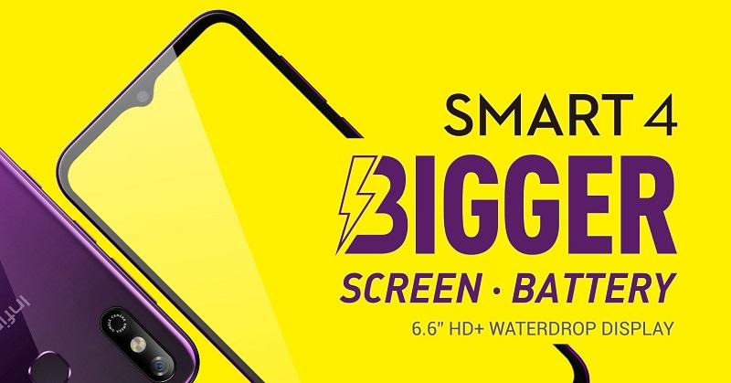 Infinix Smart 4 Bigger Battery