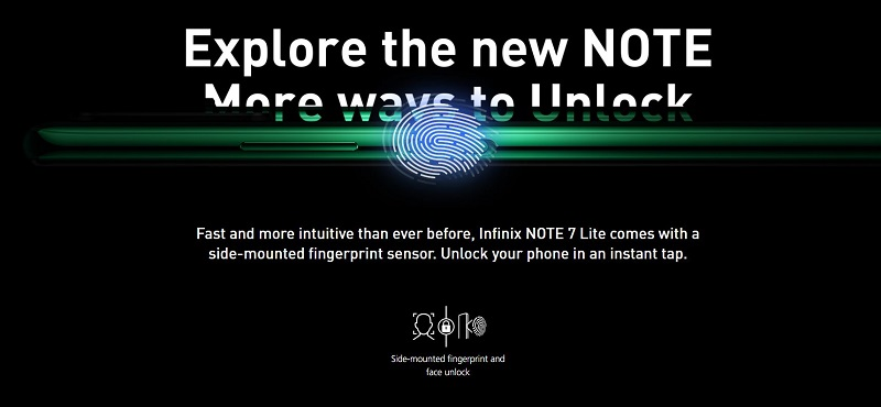 Note 7 Lite Screen Unlock Systems