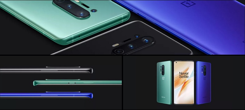 OnePlus 8 Pro Colorful Appearance