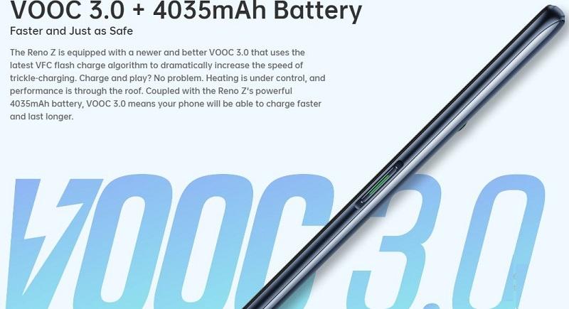 Vooc flash charging