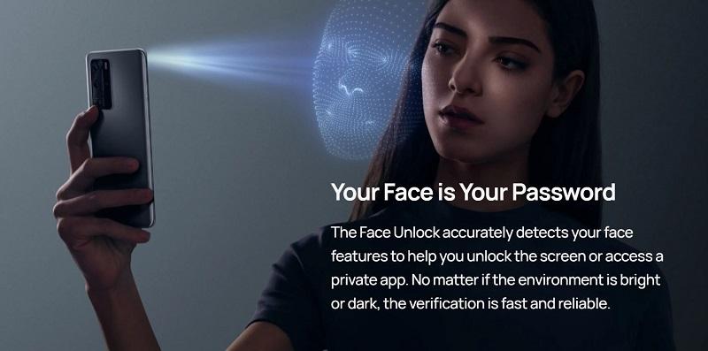 P40 Pro Face Password