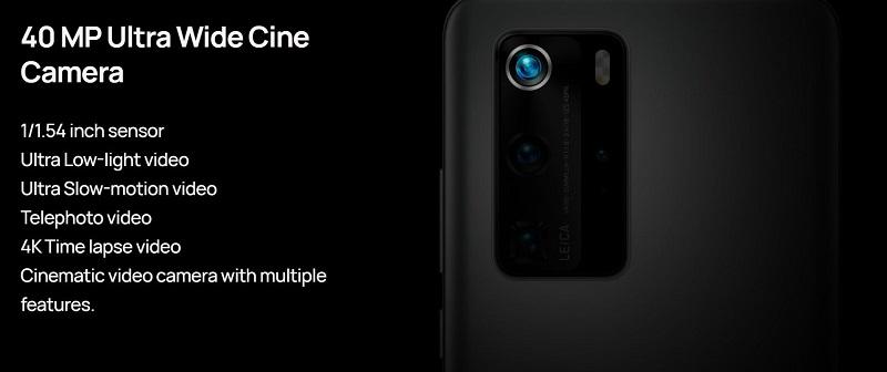 P40 Pro Ultra Wide Cine Camera