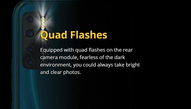 Quad Rear Flashes