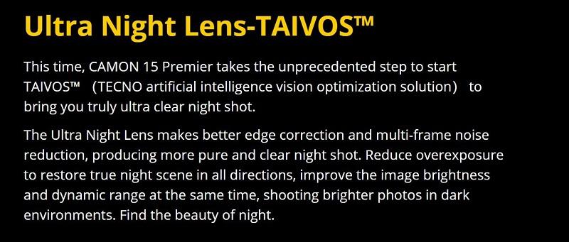 Ultra Night Lens
