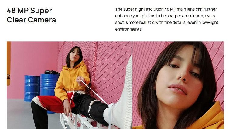 48 MP Super Clear Camera