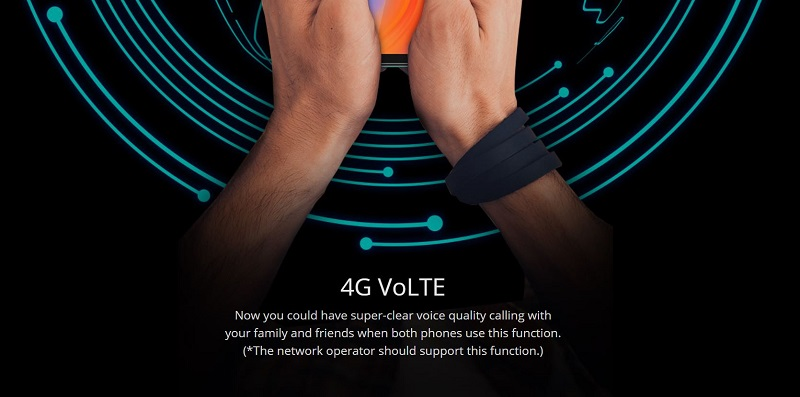 4G VoLTE Enabled
