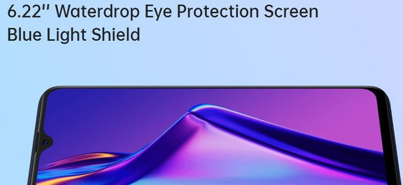 6.2 Inch display with eye protection