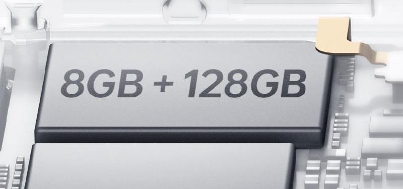 8GB + 128GB