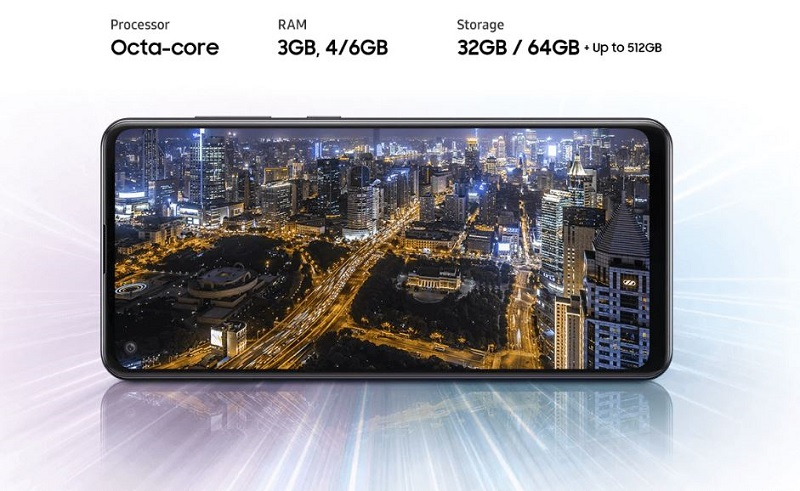 A21s powerful processor and storage