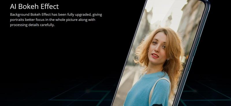 AI Bokeh Camera Effect