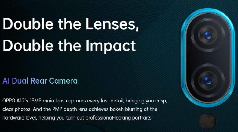 Dual Rear Camera Lenses