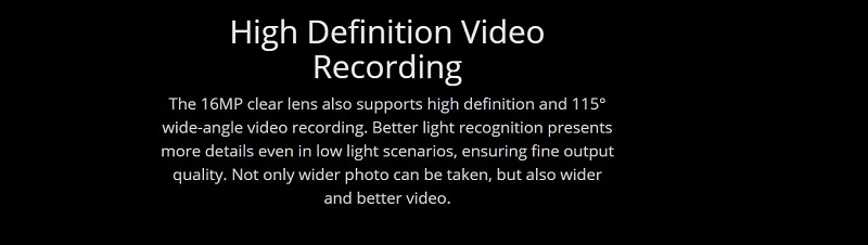 High Definition Video Recording