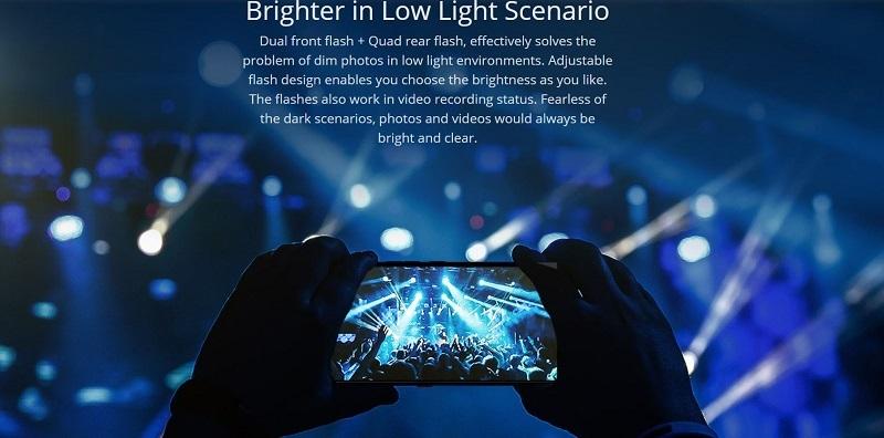 Low Light Brightness Camera Feature