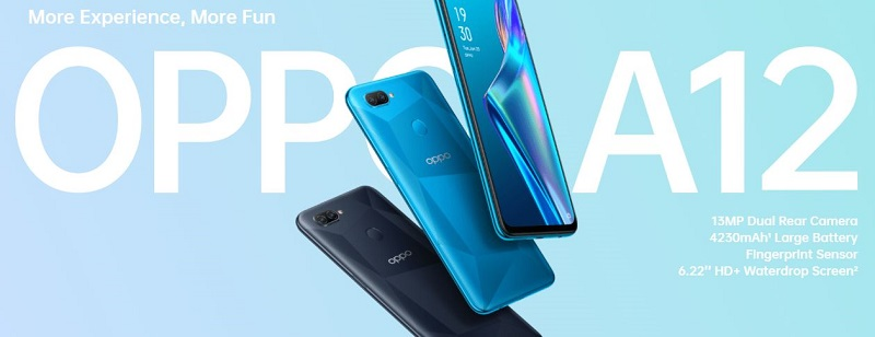 Oppo A12 Specs