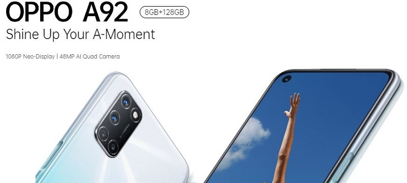 Oppo A92 Ample Storage