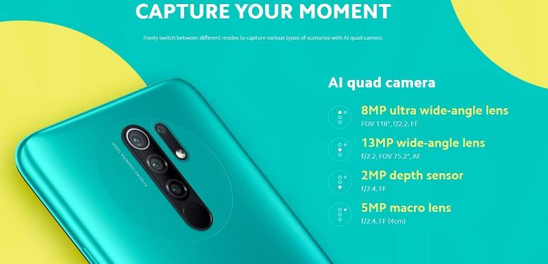 Redmi 9 Quad Camera