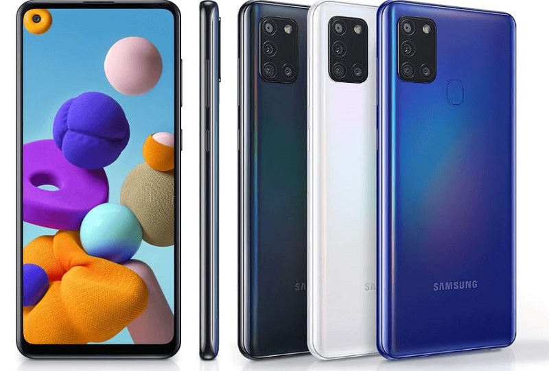 Samsung Galaxy A21s Stylish look