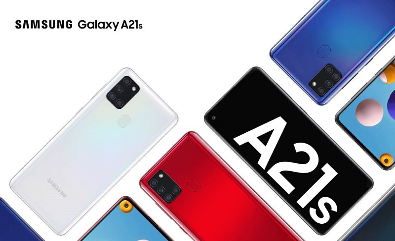 Samsung Galaxy A21s design and colors