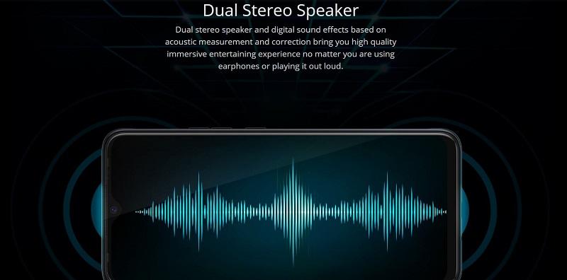 Tecno Pouvoir 4 Pro Dual Stereo Speaker