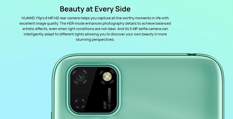 Y5p Dual Back Camera