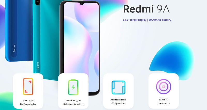 Redmi 9A Features