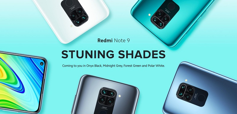 Redmi Note 9 Stunning Colors