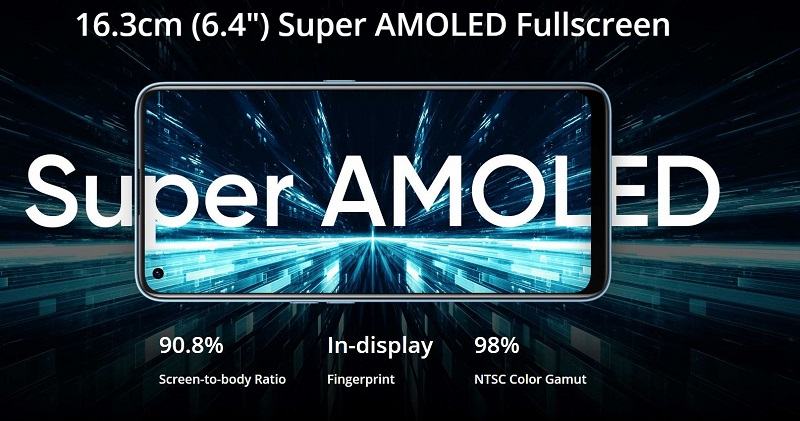 Super AMOLED Display