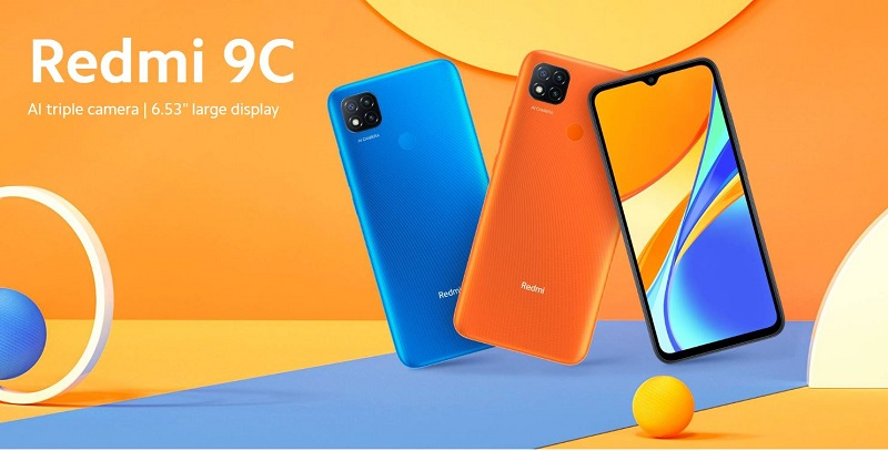 Xiaomi Redmi 9C Large Display