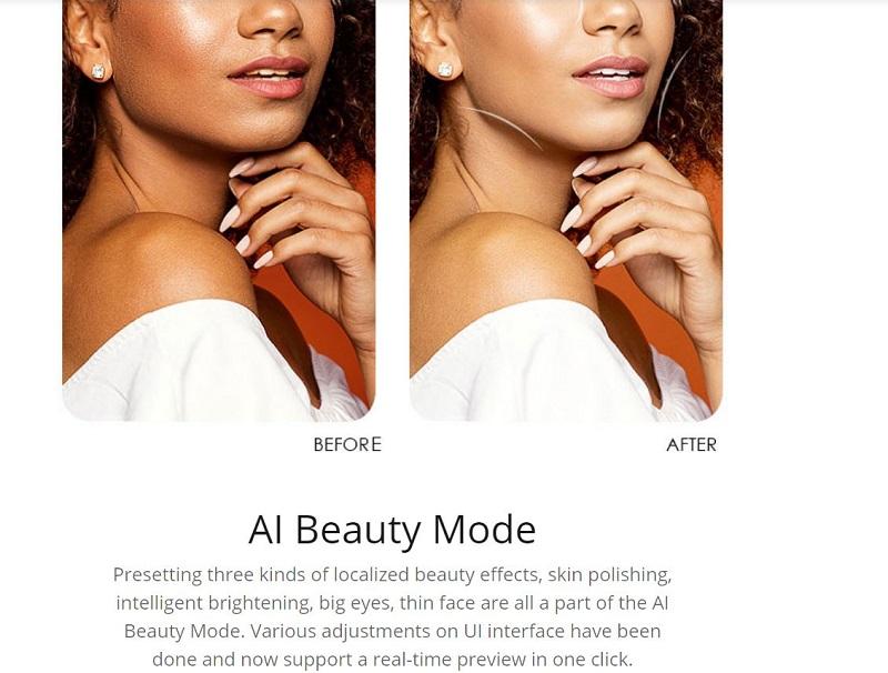 AI Beauty Mode