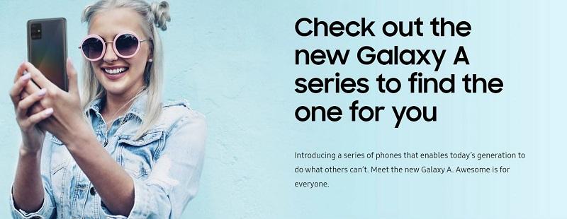 Galaxy A Series Phone Options