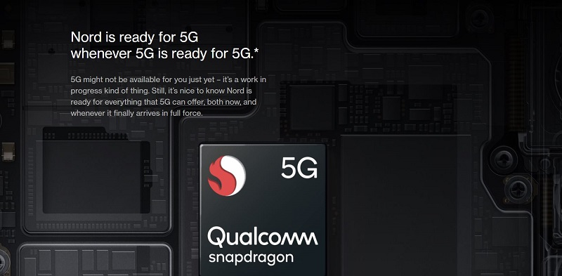 OnePlus Nord-5G Capable