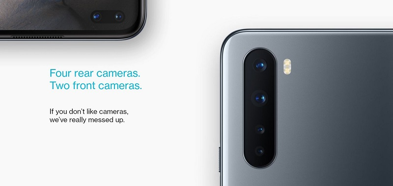 OnePlus Nord Cameras
