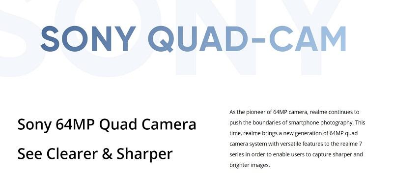 Sony 64MP Quad Camera