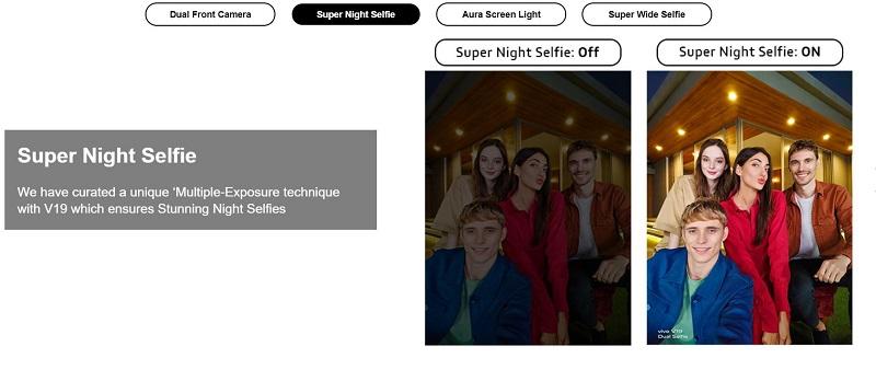 Super Night Selfie Mode